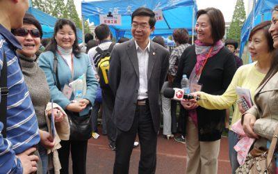 密西根学院在上海交大2013年高考招生咨询会中备受关注