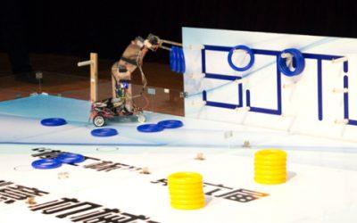 密院四代表队在第六届新生机械创意大赛复赛中胜出