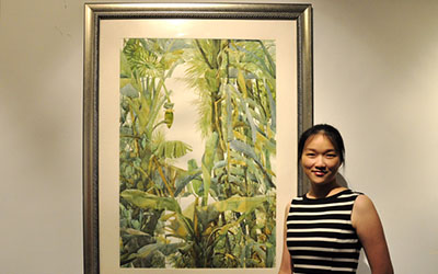 JI Student Shows Artwork at National Exhibition