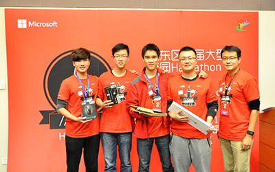 JI wins big at the first East-China Penta-Hackathon