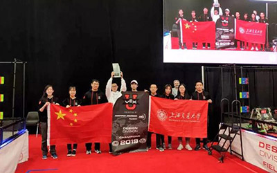 JI students clinch world robotics competition champions