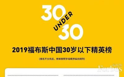 "Forbes China puts two JIers on ""30 under 30″ list"