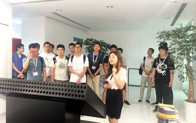 JI students visit Siemens Gas Turbine Research and Development Center