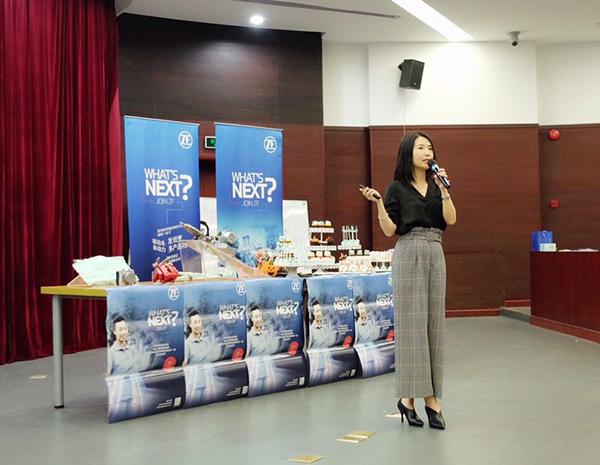 采埃孚集团亚太人力资源总监Stella Zheng