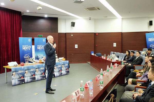 采埃孚集团亚太区总裁Andreas Weller介绍公司概况