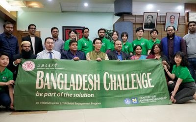 JI students take up Bangladesh challenge