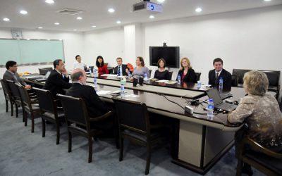 美国密西根州学区代表团访问上海交大密西根学院