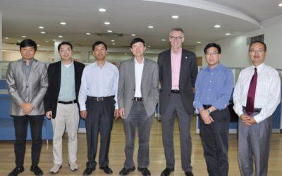 美国江森自控有限公司代表团访问密西根学院