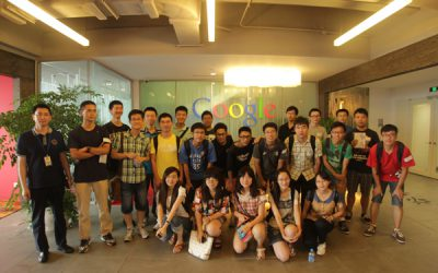 JI Students Visit Google, Shanghai