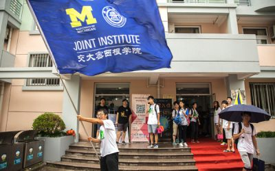 JI Welcomes New Students Wholeheartedly