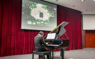 久石让作品钢琴音乐会在密西根学院温情上演