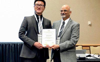 Professor Yanfeng Shen wins IMECE Best Paper Award