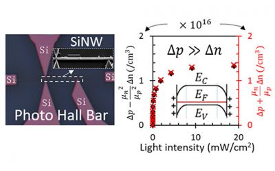 JI research team reveals the photo gain mechanism of nanoscale photoconductors
