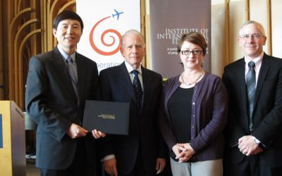 JI Receives Andrew Heiskell Award, Highest Honor in International Education