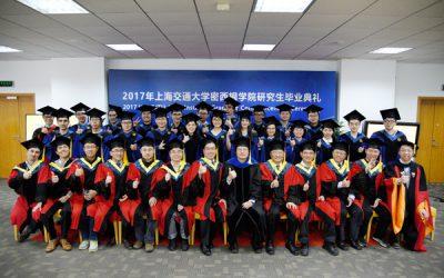 2017 JI graduate student commencement
