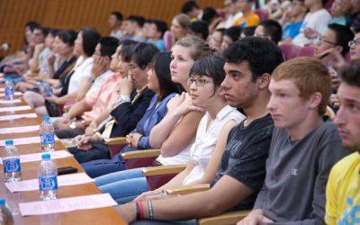 2014 JI New Student Convocation Shows JI's International Color
