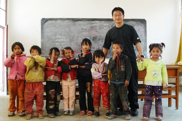 JI Yunnan Volunteer Group was organized to develop their compassion and spirit of social responsibility.