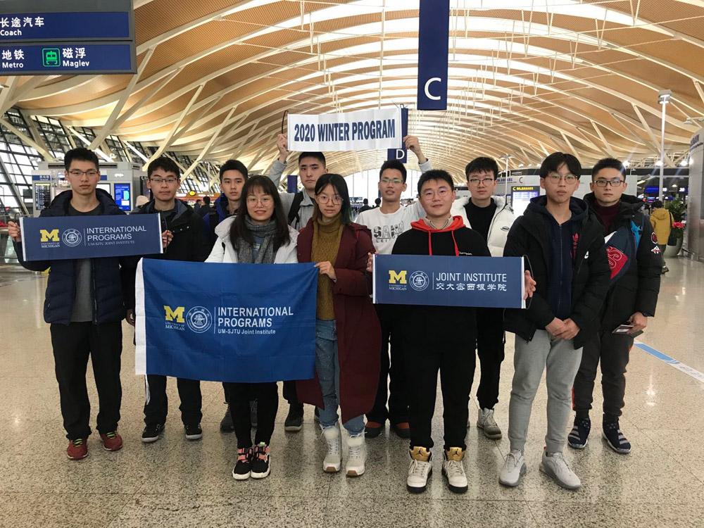 First 2020 Winter Program Team left to Tallinn Estonia!