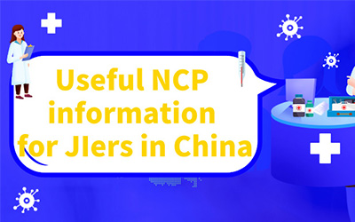 Fight against the NCP | Useful information for JIers in China