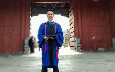 【学生风采】万杨:体验、宁静、踏实