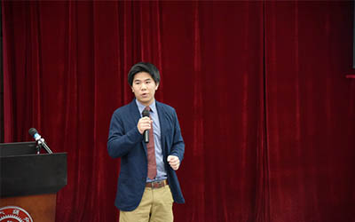 Andy Hsiao :跨越半个地球的公益梦想