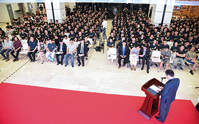JI 2020 opening ceremony held for new students