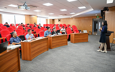 JI Future Faculty Club holds simulated interviews for doctoral students