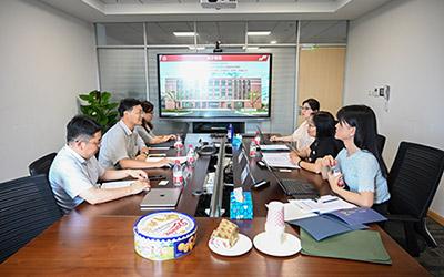 宁波诺丁汉大学赴上海交大密西根学院考察调研