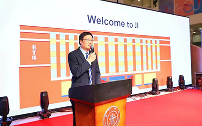 JI 2021 opening ceremony held for new students
